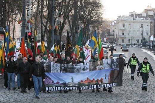 """Призыв националистов """"Литва литовцам"""" возмутил защитников прав человека"""