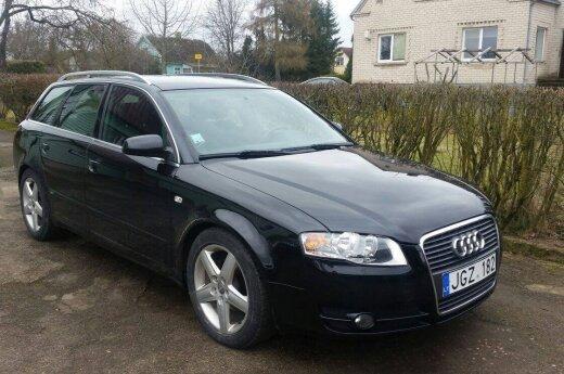 """Kaune naktį pavogto """"Audi A4"""" savininkai prašo pagalbos: gal kas matėte?"""