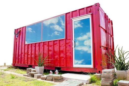 Neįtikėtinas dizainas: namai iš konteinerių