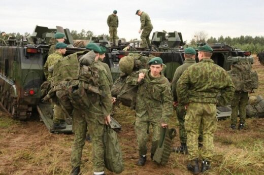 Lithuanian rotation actively preparing for standby for EU Battlegroup next year