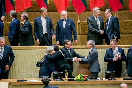 Paskutinis šios kadencijos Seimo posėdis