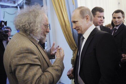 Alexei Venediktov and Vladimir Putin