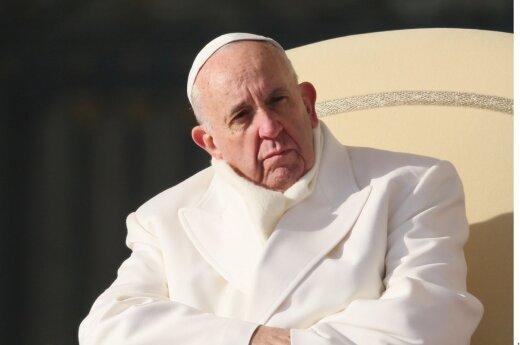 Popiežius D. Trumpą laiko nevertu būti krikščioniu