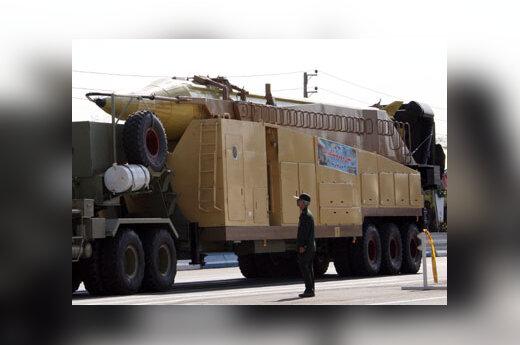 Irano didelio nuotolio raketa