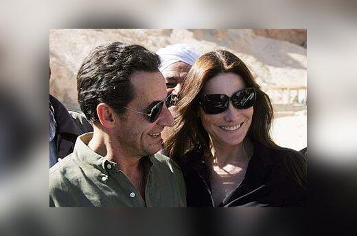 Nicolas Sarkozy ir Carla Bruni