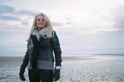 Didziosios Britanijos atstovė Bonnie Tyler