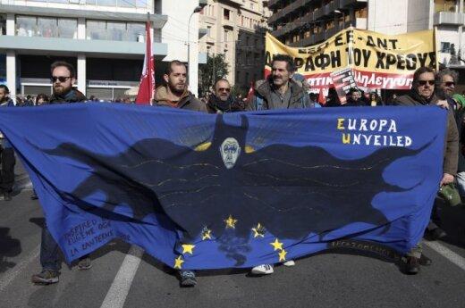 Graikija: TVF gelbėjimo programą gali finansuoti maža suma