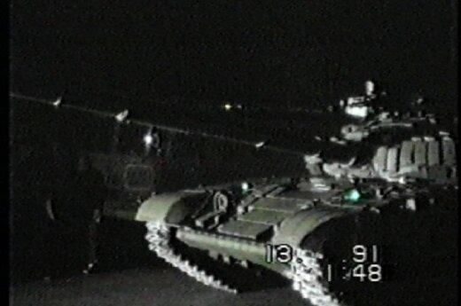 1991 m. sausio 13-oji, A.Petrulevičiaus nuotr.