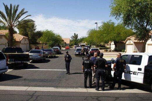 Arizonos valstijoje nušauti 4 žmonės