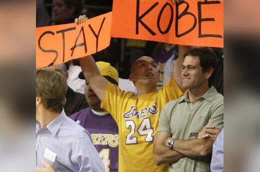 """""""Lakers"""" aistruolis prašo Kobe Bryantą nepalikti komandos"""