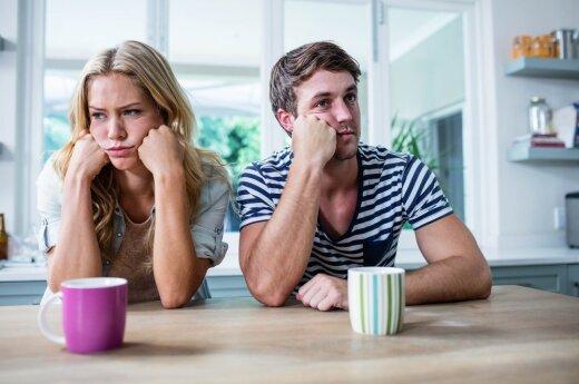 Priežastys, kodėl tobuli santykiai staiga ima braškėti
