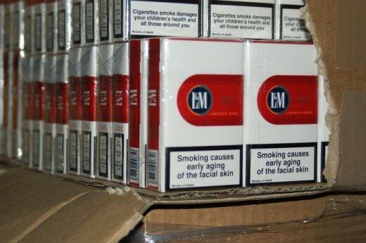 W Australii wprowadzono jednolite paczki papierosów