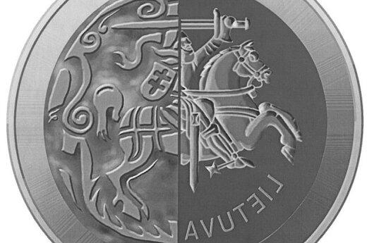 Известно, как будет выглядеть первая коллекционная евромонета Литвы