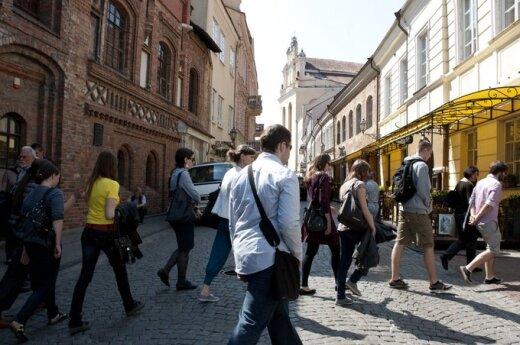 Иностранные туристы оставили в Литве больше денег