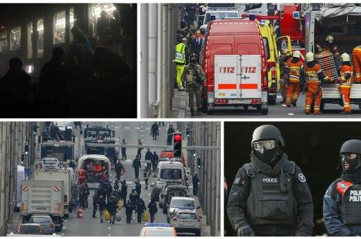 Kruvinos atakos Briuselyje: siunčiami trys aiškūs signalai