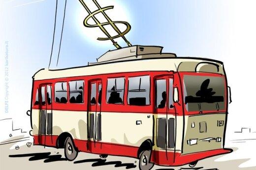 Зуокас: через 10 лет в Вильнюсе не останется троллейбусов