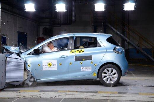 Renault Zoe Euro NCAP testuose