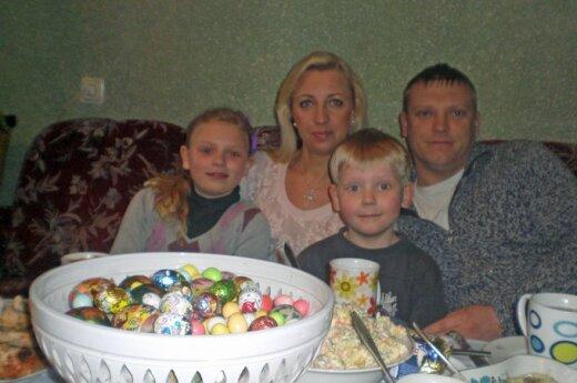 """""""Pasidalink"""": iš emigracijos grįžusi šeima kabinasi į gyvenimą Lietuvoje"""