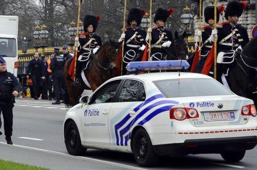 Briuselyje savižudis vairuotojas sužalojo aštuonis policininkus