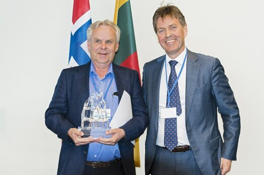 Gunnvar Laukhammer and Bjørnar Lund  Photo © Ludo Segers  @ The Lithuania Tribune