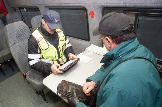 Skaitytoja: viešajame Vilniaus transporte kontrolieriai keleiviams nepadeda