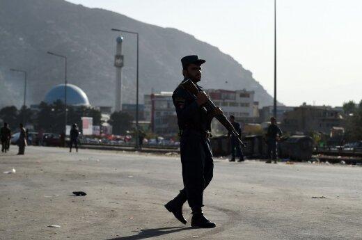JT: vis daugiau vaikų tampa Afganistano konflikto aukomis