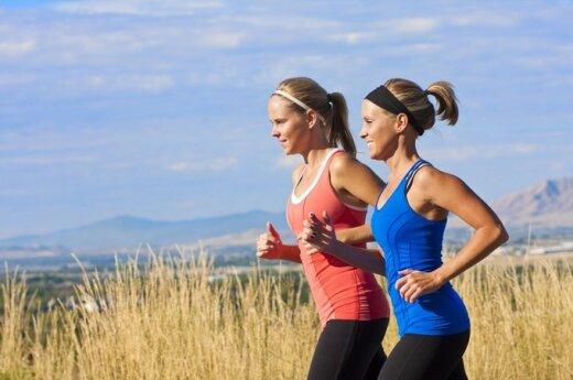 Kaip pagaliau ryžtis pradėti bėgioti?