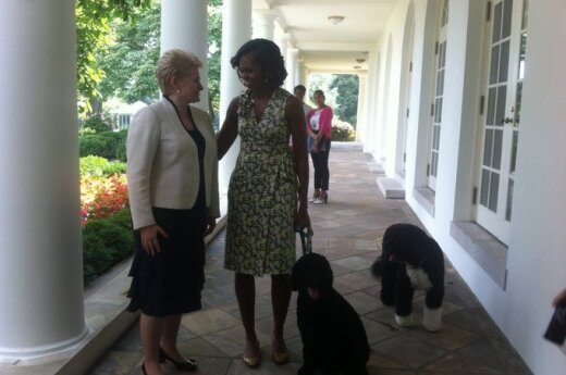 Dalia Grybauskaitė, Michelle Obama