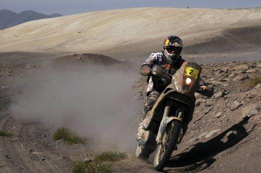 """""""Дакар"""": в зачете мотоциклов Депре вернул себе лидерство"""