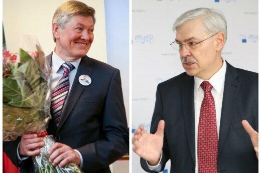Artūras Paulauskas ir Zigmantas Balčytis
