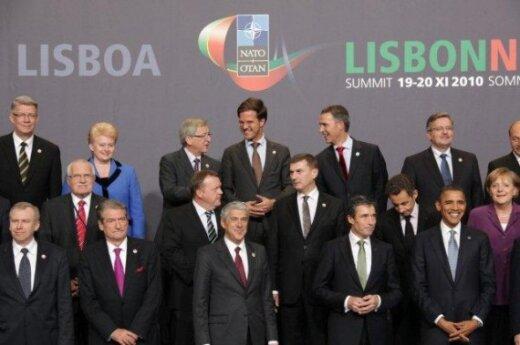NATO viršūnių susitikimas Lisabonoje    (Dž. Barysaitės nuotr.)