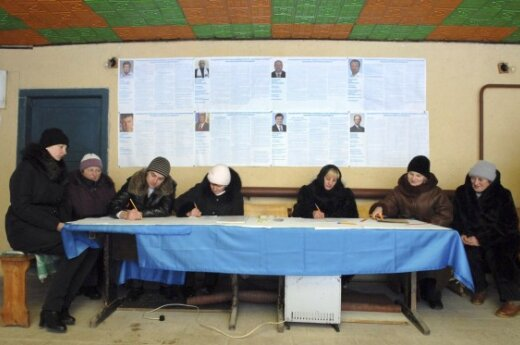 Украина: перед вторым туром изменен закон о выборах