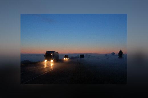 Kelias, sunkvežimis