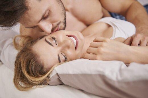 Ką reiškia seksas kartą per savaitę?