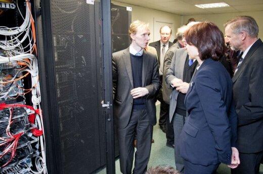 Prezentacja nowego litewskiego superkomputera