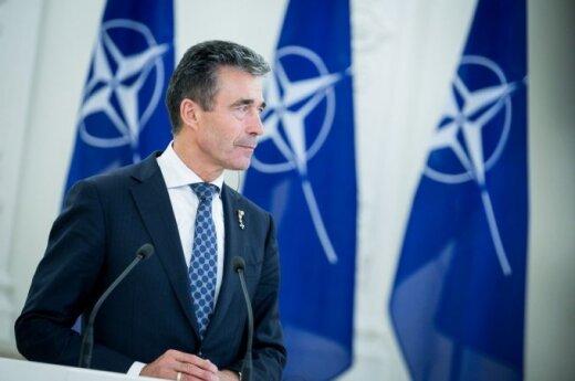 """Расмуссен предложит Украине """"политическую помощь"""" НАТО"""