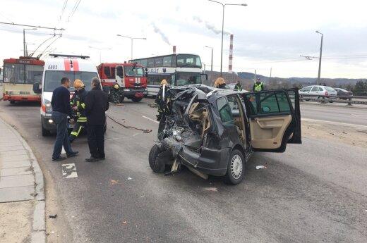 В Вильнюсе в ДТП пострадали граждане Латвии