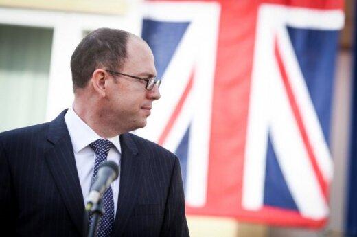 H.E. British Ambassador to Lithuania David Hunt