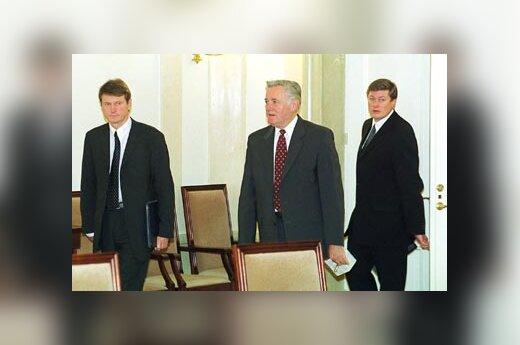 R.Paksas, V.Adamkus, A.Paulauskas