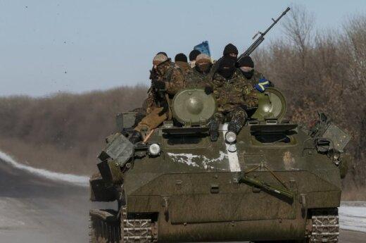 Киев: группа военных в районе Дебальцево попала в засаду и плен