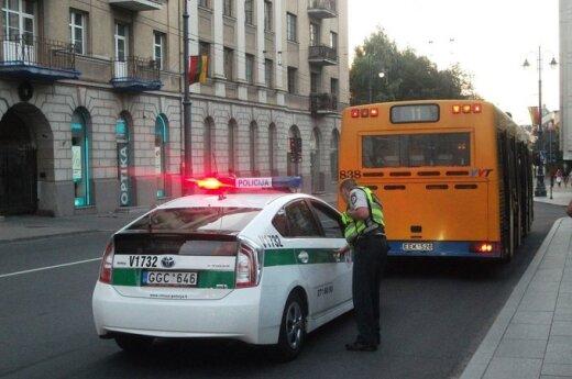 Autobuse užpulta moteris sulaukė gynėjo