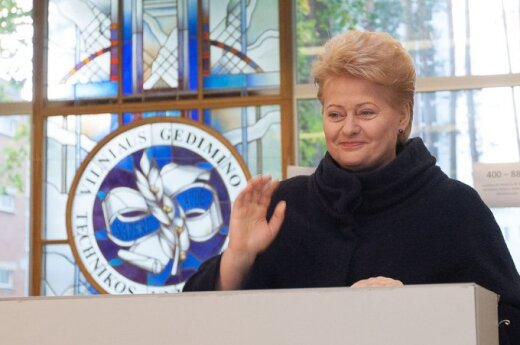 Grybauskaitė: Syrii trzeba pomóc, a nie ją atakować