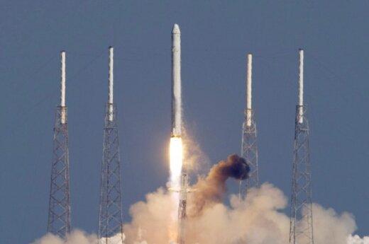 """Olbrzymi dron """"Statek Matka"""" pomoże wylądować rakietom"""