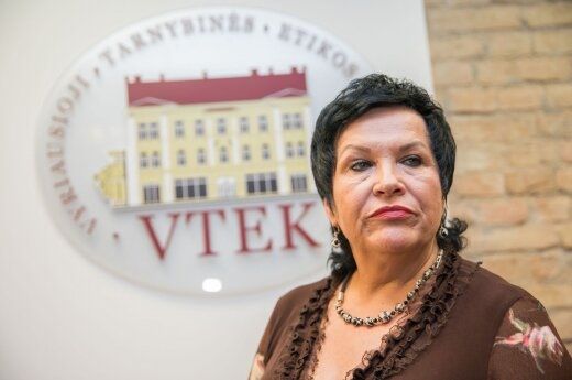 Audronė Pitrėnienė at ethics watchdog
