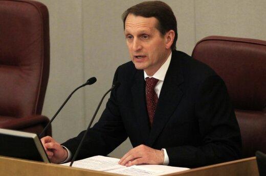 Rosja: Przewodniczący Dumy odmówił udziału w sesji Zgromadzenia Parlamentarnego RE