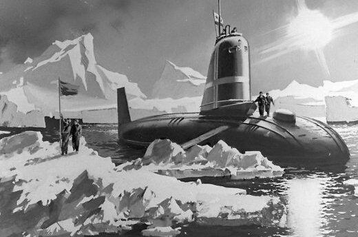 Россия утилизирует первую атомную подлодку СССР