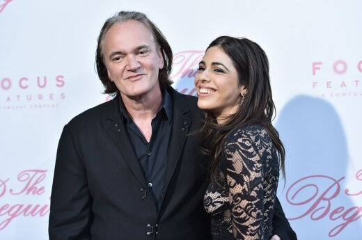 Quentin Tarantino ir Daniela Pick