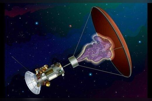 Tarpžvaigždinio kosminio zondo su kombinuotu antimedžiagos varikliu prototipas Hbar nuotr.