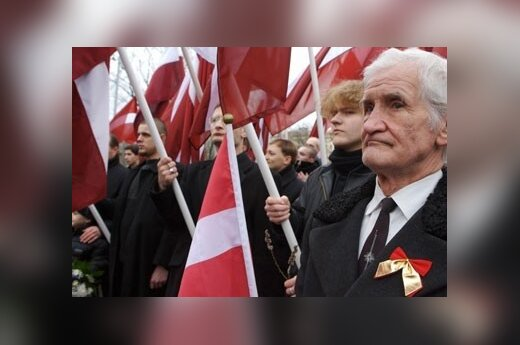 Латвийские легионеры готовятся к 16 марта