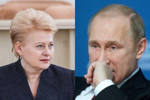 Путин не поздравил с праздниками Литву и Украину